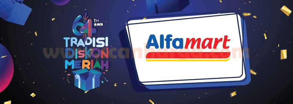 ALFAMART PROMO HUT BCA 64 – DISKON Rp 6.400 dengan Flazz Kartu Kredit BCA