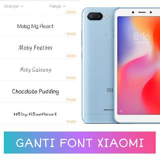 Merasa bosan dengan tampilan abjad bawaan pada handphone Xiaomi yang gitu Nih Cara Mengganti Bentuk Huruf Xiaomi