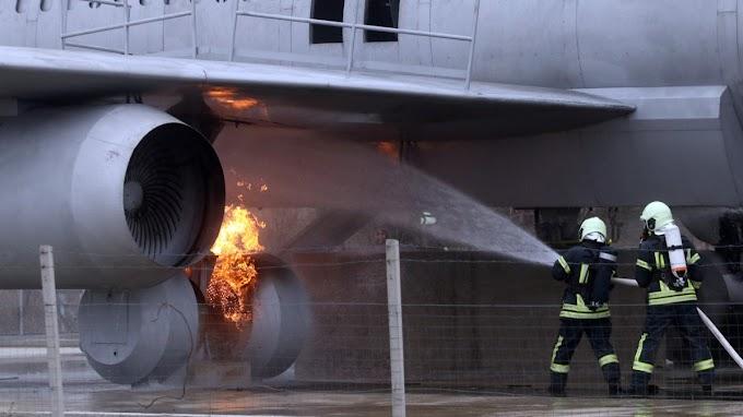 Kényszerhelyzeti gyakorlat a Debreceni Nemzetközi Repülőtéren