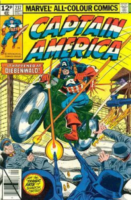 Captain America #237