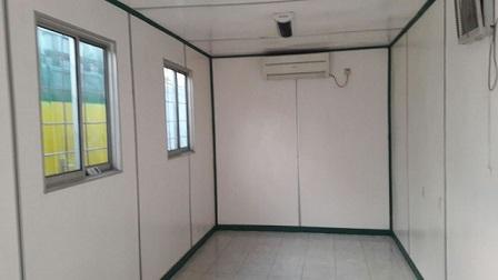 Container Kantor Di Lengkapi Dengan AC