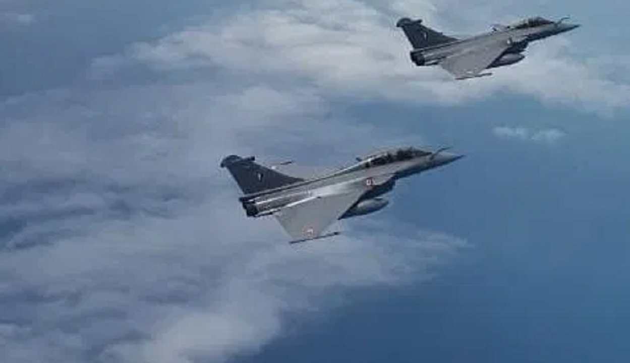Three more Rafale aircraft reaching India from France