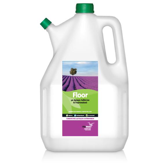 Βιοδιασπώμενο Προϊόν Καθαρισμού Δαπέδων και Επιφανειών, με άρωμα Λεβάντα & Πορτοκάλι