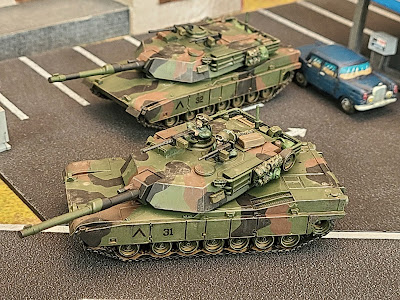Flames of war, Team Yankee, WWIII, M1A2 Abrams, FOW, NATO Camo