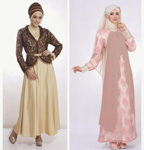 model baju muslimah elegan