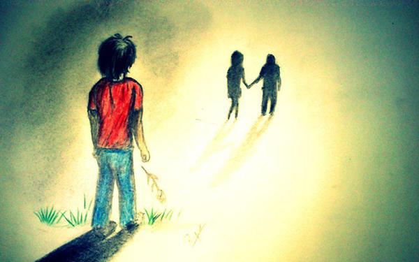 Hình ảnh người thứ 3, Ảnh người đến sau trong tình yêu