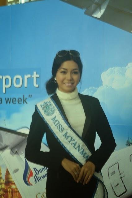 ရန္ေနာင္ (ဗုိလ္တေထာင္) - Miss Myanmar International ဝိုင္းေလး Miss World ၿပိဳင္ရန္ လန္ဒန္သို႔ထြက္ခြာ