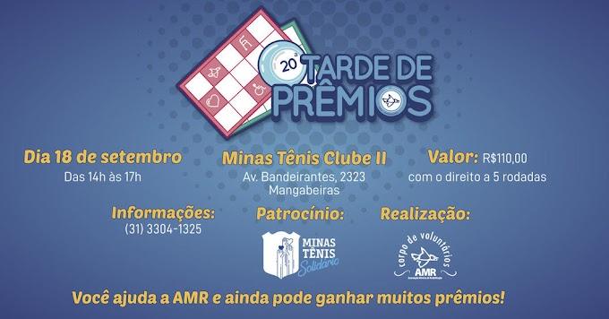 AMR PROMOVE TARDE DE PRÊMIOS NO DIA 18 DE SETEMBRO