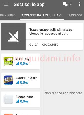 Opera Max Gestisci le app