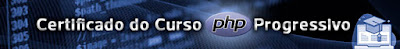 Curso PHP Progressivo com certificado