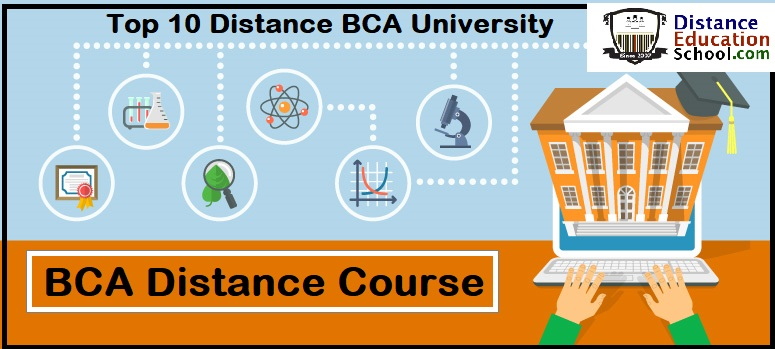 Distance BCA Course From Top Distance Education University in India