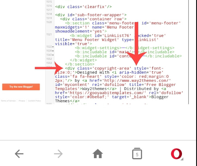 remove copyright credit details screenshot