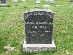 Samuel and Eleanor's Headstone