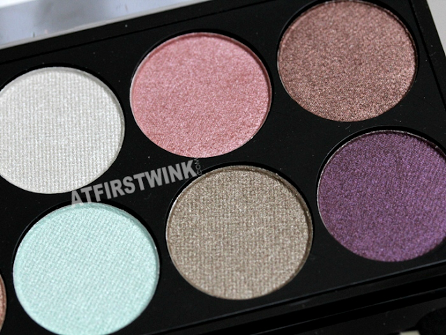 MUA (makeup academy) eyeshadow palette - Spring Break shades (right)