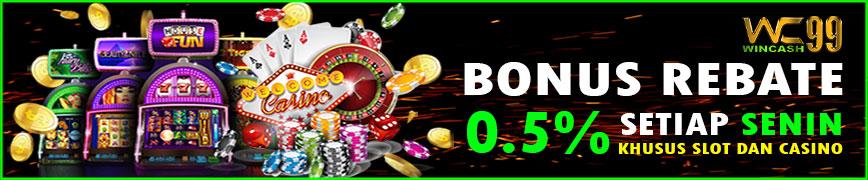 Bonus Rollingan Slot Wincash99