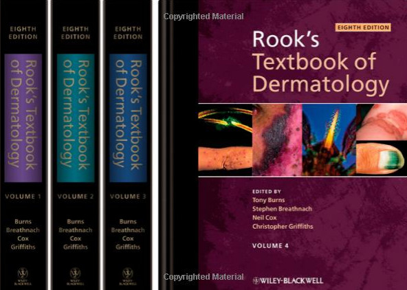 Rook's Textbook of Dermatology - 4 Volume Set 8th Edition