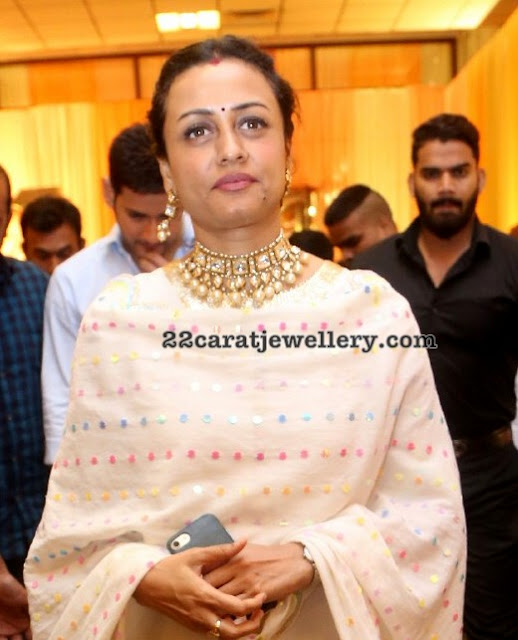 Namrata Shirodkar Polki Kundan Necklace