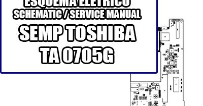 Esquema Elétrico Smartphone Tablet Semp Toshiba TA 0705G