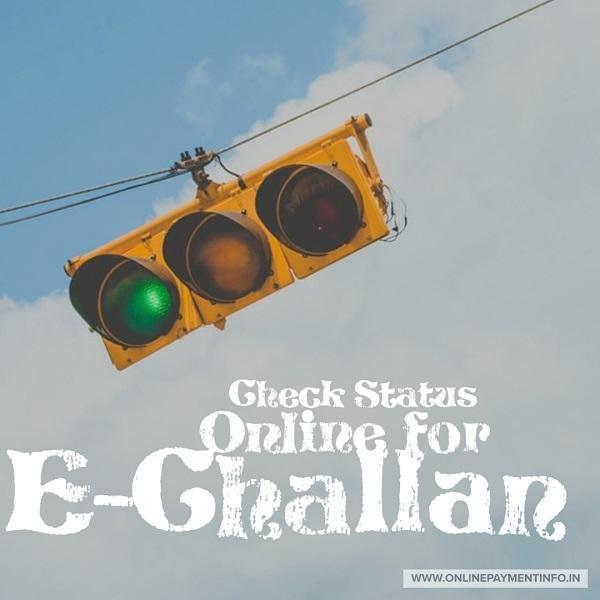 check e-challan status online