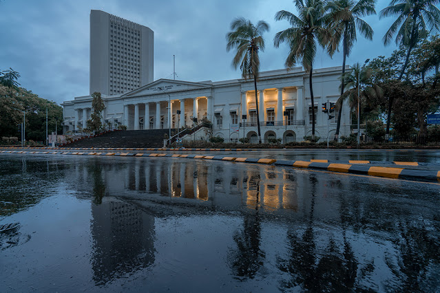 mumbai, colonial architecture, Horniman Circle, photography, asiatic library