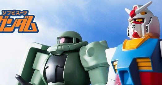 DX Soft Vinyl RX-78-2 Gundam and Zaku Mass Production Type Coming