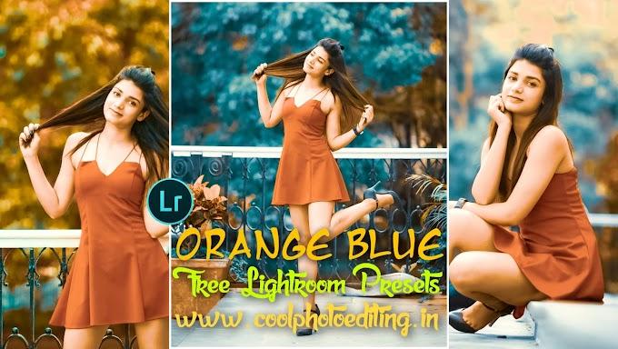 Orange And Blue Lightroom presets
