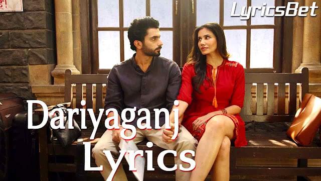 Dariyaganj Lyrics