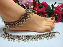 silver anklets tanishq in Angola