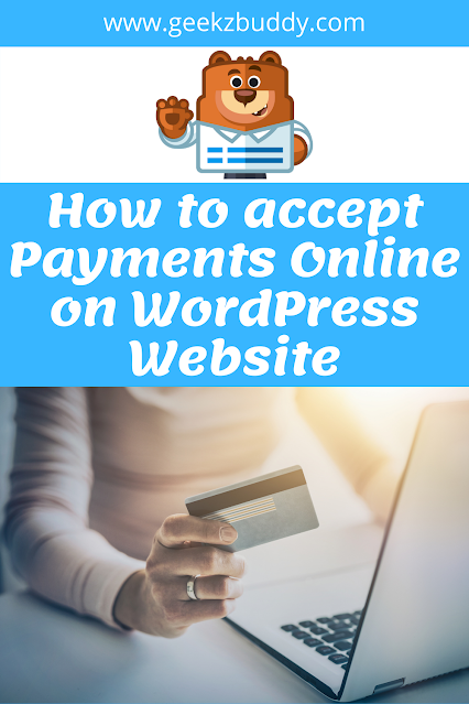 How to accept Payments Online on WordPress Website