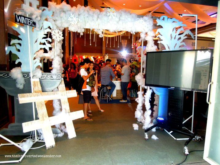 Blogapalooza event entrance