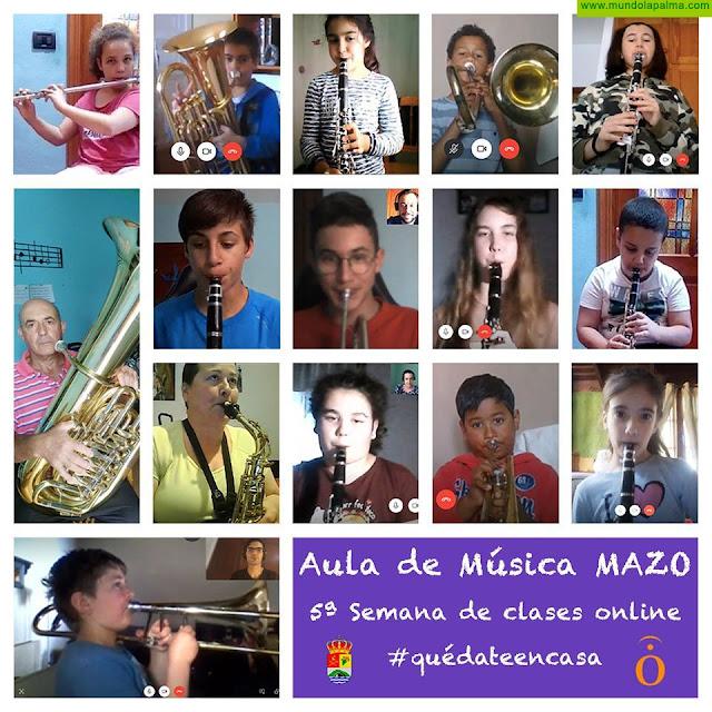 El Aula de Música de Villa de Mazo continúa su programación con una Audición Virtual