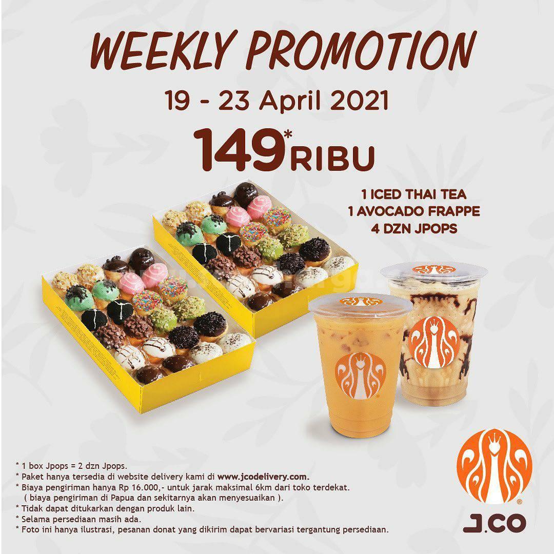 JCO Weekly Promotion  19 - 23 April 2021