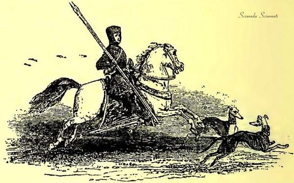 Kilhwch va al palazzo di Artù - Kilhwch e Olwen - Lady Charlotte Schreiber - 1902