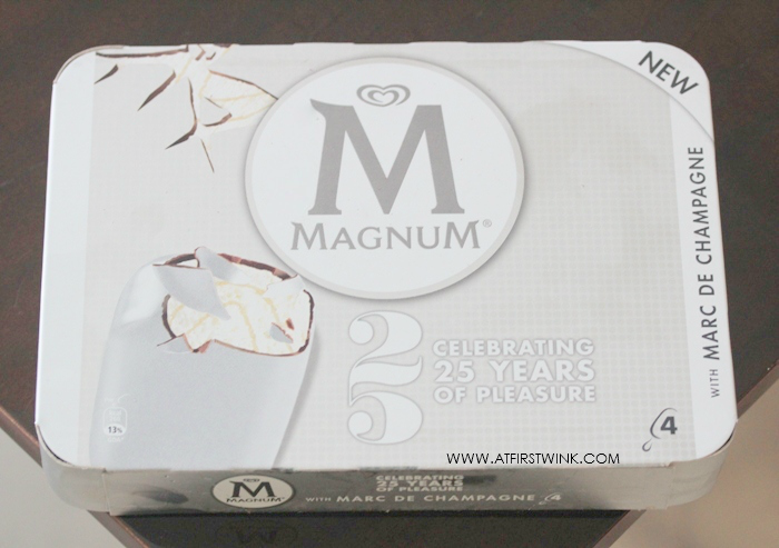 Magnum with marc de champagne