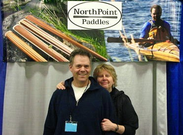 Randy & Brita at Canoecopia