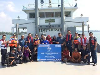 Jajaran KSOP Kijang Sambut Hari Pelaut  Sedunia