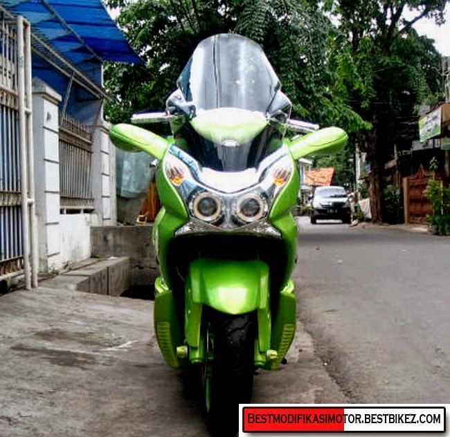 contoh modifikasi motor honda pcx 150