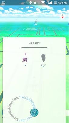 Cara Mencari Lokasi dan mengetahui di Map Pokemon GO