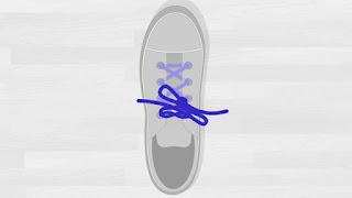 Cara Mengikat Tali Sepatu Tutorial 3