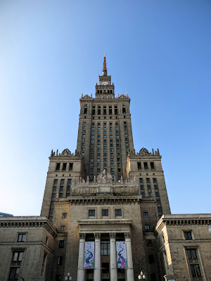 Weekend in Warsaw: Palace of Culture and Science in Warsaw, Poland