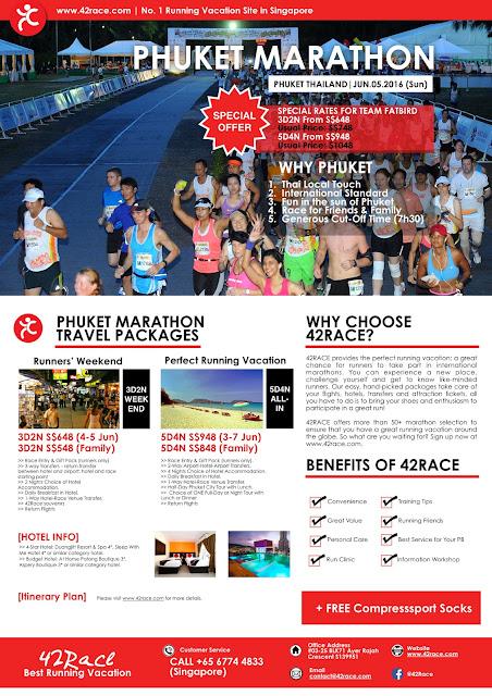 Run Paradise, Run Phuket Marathon 2016!