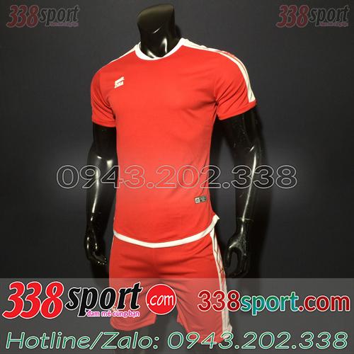 Áo Bóng Đá Không Logo Hot ZuKa BaSix SPH01 Đỏ