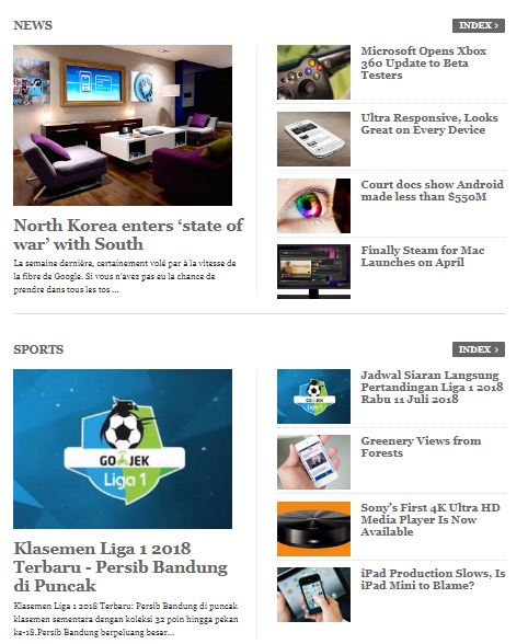 Berikut ini cara menciptakan Widget Featured Recent Post Per Kategori  Cara Membuat Widget Featured Recent Post Per Kategori ala Template Magazine Style