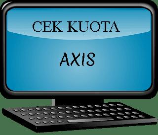 Cara Mudah Cek Kuota Internet AXIS