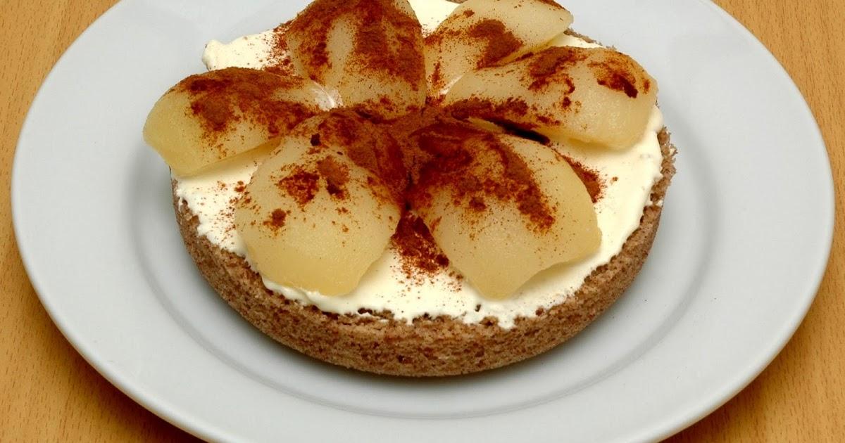 Diabetic Sponge Cake Recipes Uk: The Low Carb Diabetic: Lowcarb Pear, Cinnamon And Cream