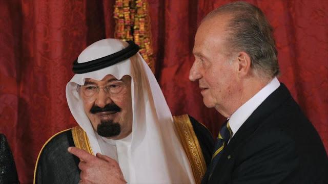 Investigan al rey emérito español por intercambio ilícito con Riad