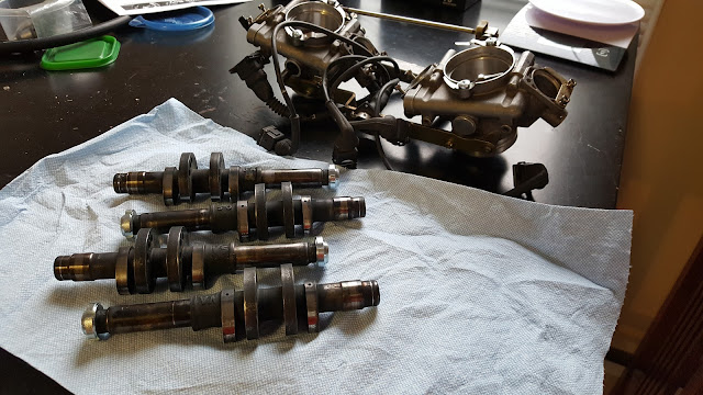 Ducati SPS Camshafts Double Injector Throttle Bodies