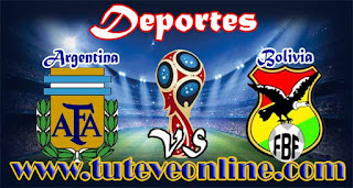 Argentina vs Bolivia | Martes 29 de Marzo de 2016 | Eliminatorias Rusia 2018