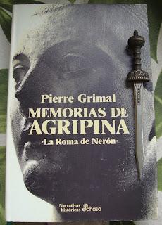 Portada del libro Memorias de Agripina, de Pierre Grimal