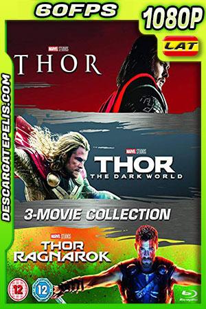 Thor 1-2-3 (2011-2017) 1080P BDrip 60 FPS Latino – Castellano – Ingles